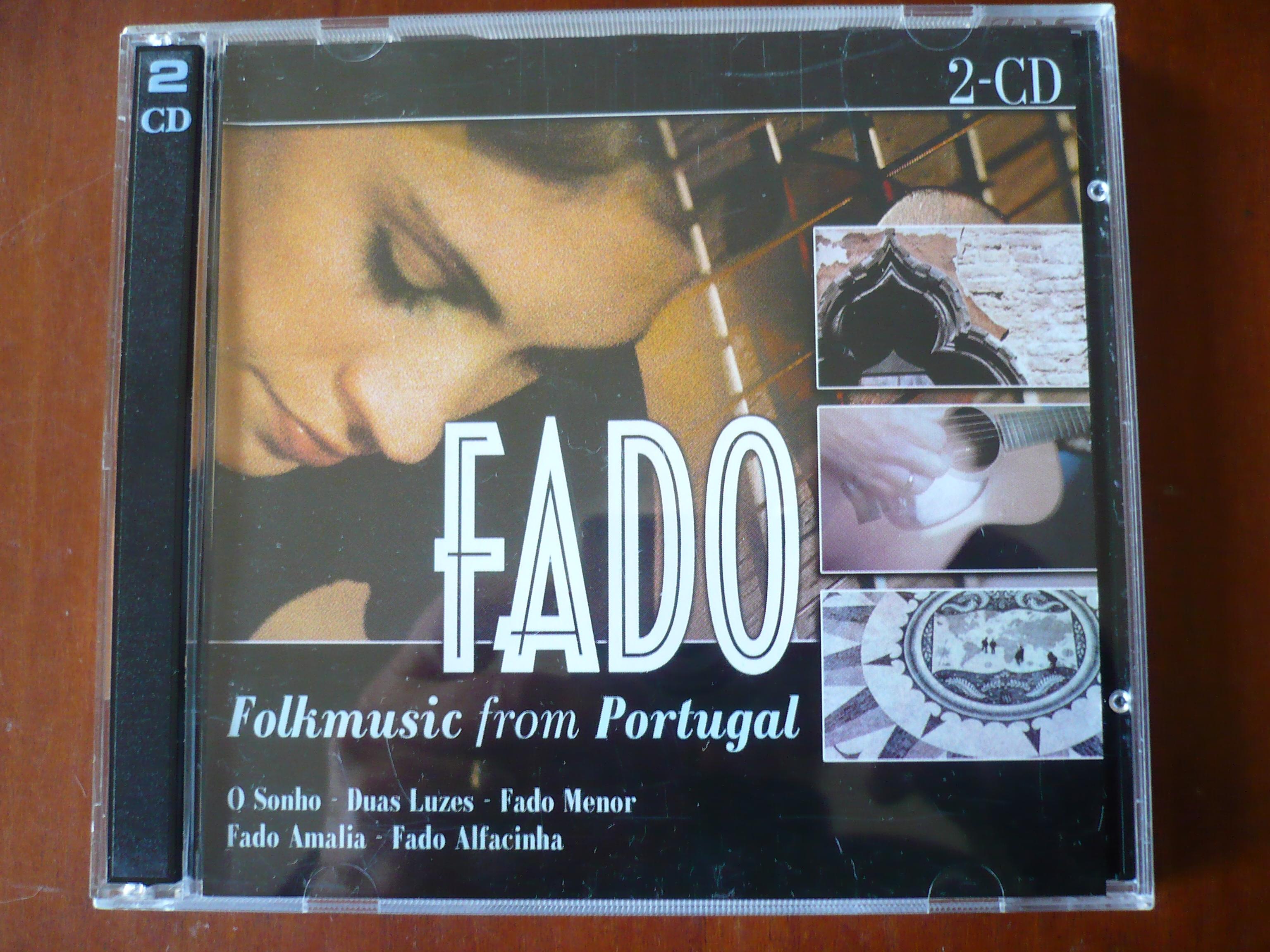 FADO Folkmusic from Portugal. 2 cd set.  e 4,00